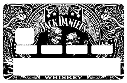 c974afcf3f7 Amazon.com: DECO-IDEES Credit Card Sticker, I Love Jack Daniel's ...