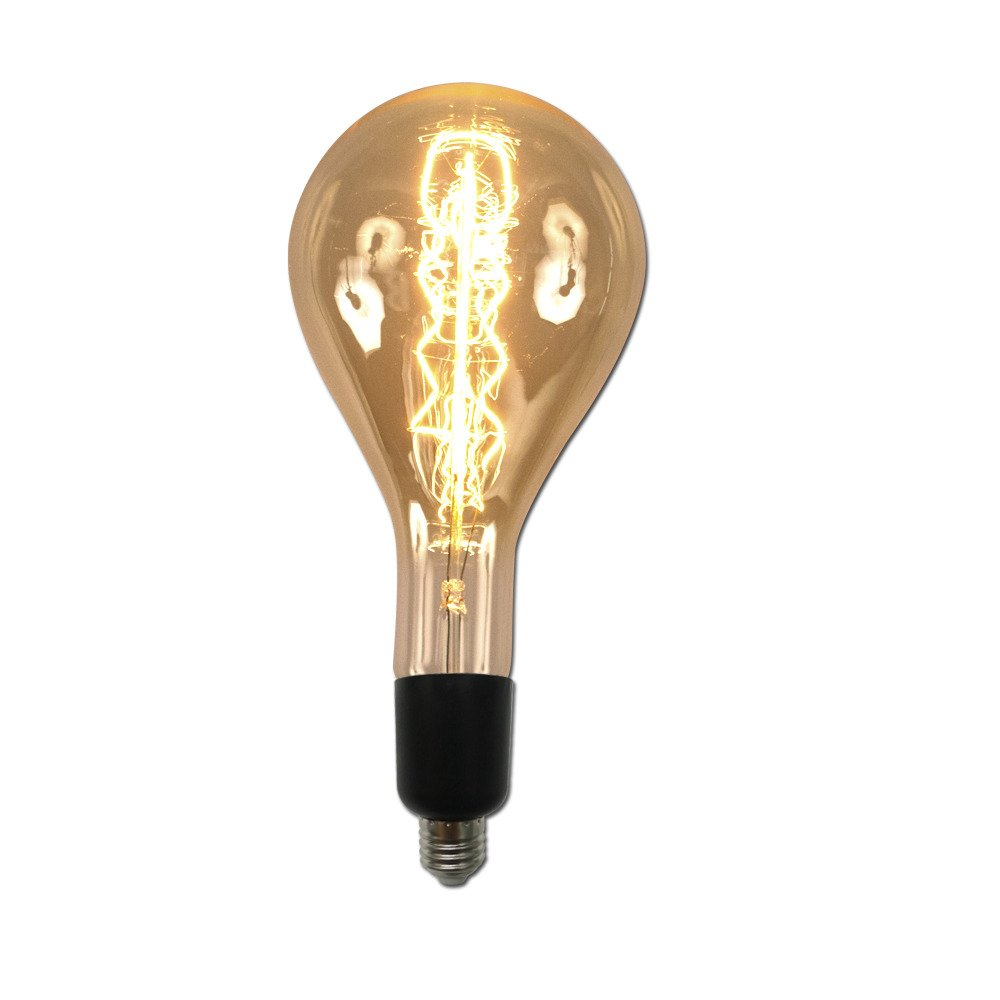 String Light Company R180F6 Large Vintage Antique 60W Light Bulb with E26 Base Table In A Bag Manufacturing Corp.