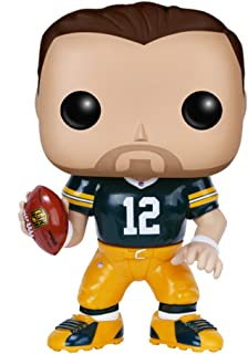 Funko 7556 No Actionfigur NFL 2: Aaron Rodgers (Packers), British Racing Green,Gold, Einheitsgröße