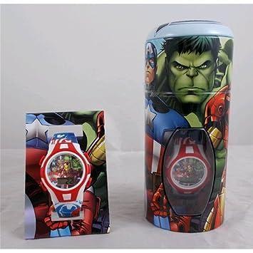Reloj digital Spiderman Vengadores Avengers Marvel surtido: Amazon.es: Bebé