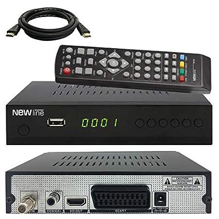 netshop 25 Digital Camping SAT Anlage 40 cm Spiegel 10m Kabel HD Sat Receiver HD Single LNB