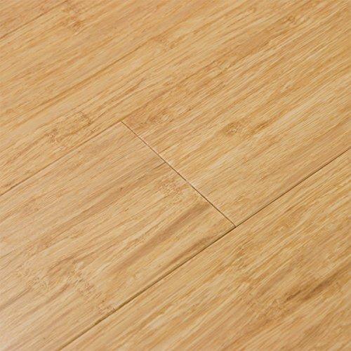 Cali Bamboo - Solid Click Bamboo Flooring, Light Natural Brown - Sample