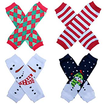 Amazon.com: Leg Warmers 4-Pack - One size - Baby, Toddler