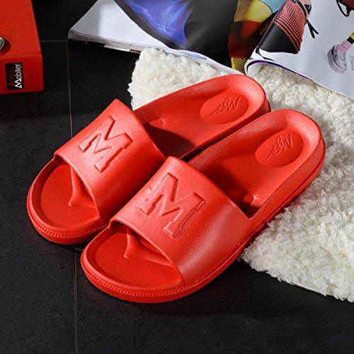 Salle Blue Intérieure Plat Plat Couple De Loisirs De Plastique Bains Accueil Nouveau Fond Pantoufles En Antidérapante D'usine Pantoufles Pantoufles Magasins xH1S4qwI