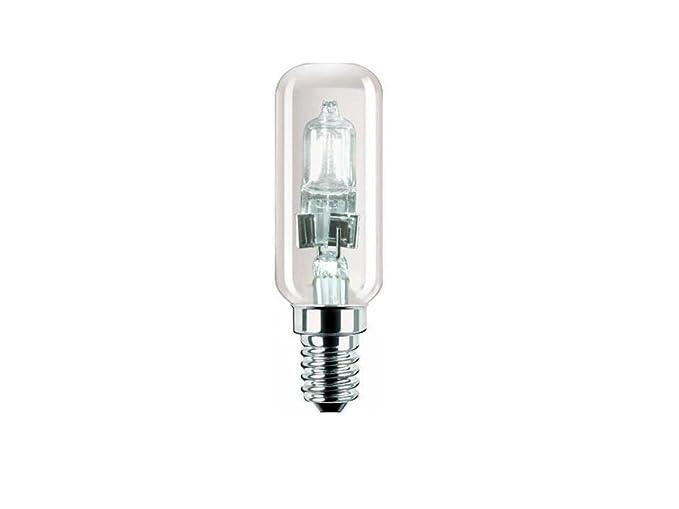 Lampada Alogena Tubolare E14 : Lampada alogena tubolare e14 28w per cappa risparmio energetico