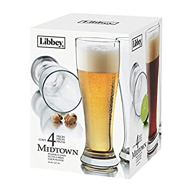 Midt 4PC Pilsner Set (Pack of 4)