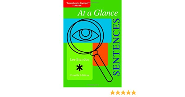 Amazon.com: At a Glance: Sentences (At a Glance (Houghton Mifflin ...