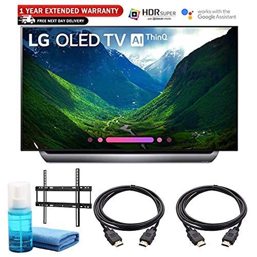 OLED65C8PUA 65-Inch 4K Ultra HD Smart TV (2018 Model) Includes Wall Mount