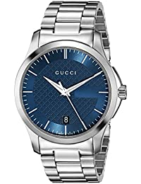 de8afe3330d G-Timeless Stainless Steel Bracelet Men s Watch(Model YA126440). Gucci