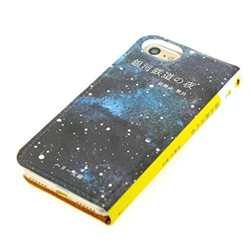 結果としてゾーンインサートiphone7plus ケース 手帳型 文庫本 レザーケース スマホケース iphone (iPhone7Plus用)