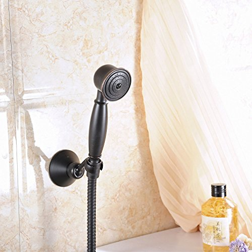 Greenspring Universal Showering Components Vintage Style Hand Shower Unit Oil Rubbed Bronze (Shower Wall Mount Unit)