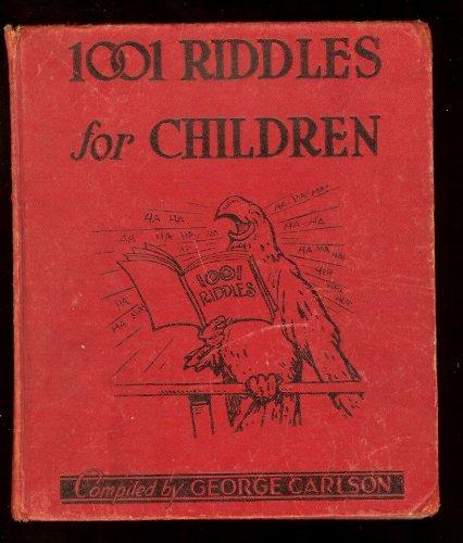 1001 Riddles For Children (A Platt & Munk Fun-Time Book, 1949)