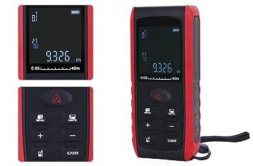 Mini Laser Entfernungsmesser : E laser entfernungsmesser m messen werkzeug amazon baumarkt