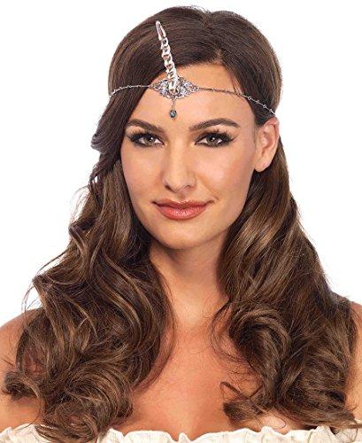 Leg Avenue Silver Unicorn Horn Headband - Silver - One Size (Unicorn Horns)