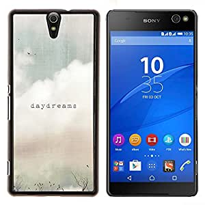 - daydreams vignette quote text summer field - - Modelo de la piel protectora de la cubierta del caso FOR Sony Xperia C5 Ultra RetroCandy