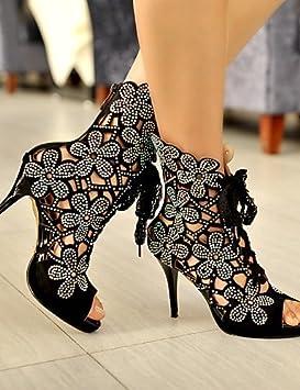 Ei   iLI Zapatos Mujer – Sandalias Zapatos Tacón – Boda vestir planeta 5c753c8bc3c2
