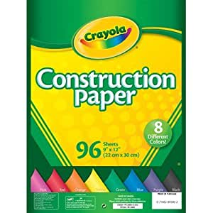 Construction Paper Pack [Set of 3]