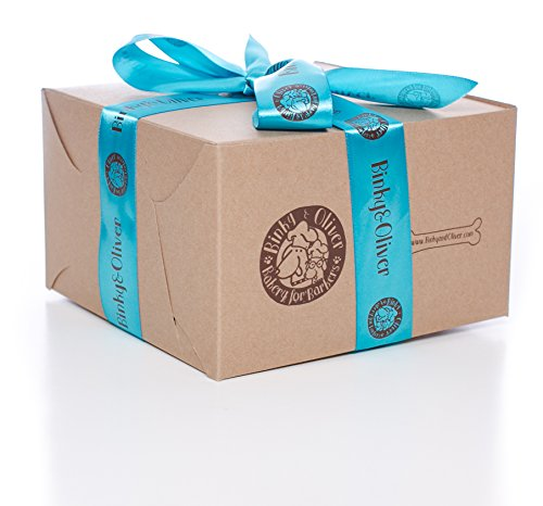 SALE!! Bakery Box of Gourmet, Organic Dog Treats | 5 x Assorted (2.5 to 4 oz.) Packs with Various Flavors | All Natural, Organic Ingredients PLUS 1 BONUS GIFT A TOTAL $44.95 Value!!