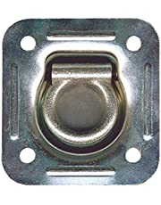 """Keeper 04528 4-7/16"""" Recessed Square Flip Ring Anchor"""