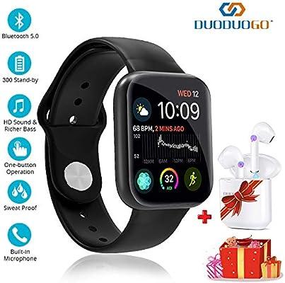 Smartwatch Reloj Resistente Hombre Mujer Niños Monitor Pulso ...