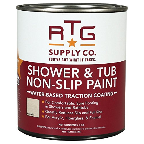 RTG Shower & Tub Non-Slip Paint (Quart, (Jamestown Cream)