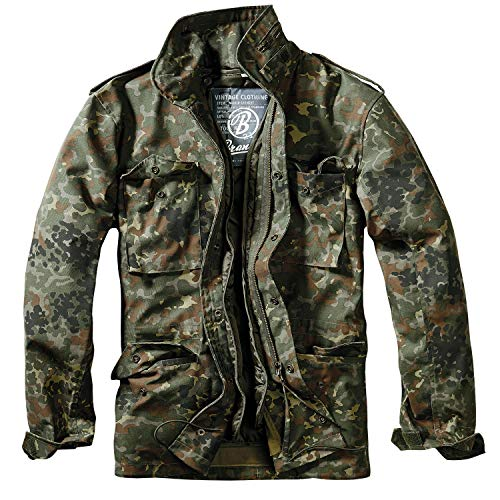 13d65910fc936 Authentic European Military Surplus imported directly from Germany.  Comments. Brandit Men's M-65 Classic Jacket Flecktarn Size 3XL