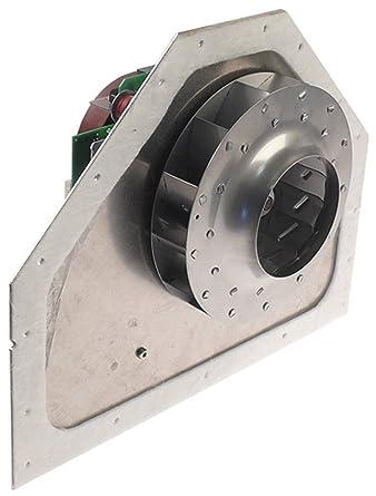 Unidad de ventilador para microondas 230 V L1 110 mm L2 5 mm L3 55 ...