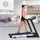 Hindom Folding Portable Electric Treadmill with APP Control, Motorized Power Health & Fitness Running Machine, 3 Types(US Stock) Review