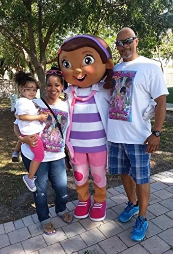 Doc Mcstuffins Top Mascot Costume Character Adult Party Halloween Outfit (Adult Doc Mcstuffins Costumes)