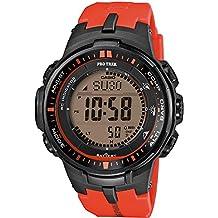 Casio Pro Trek Tough Solar PRW-3000-4ER Atomic watch for men Altimeter, Barometer, Thermometer, Compass