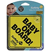 Safety 1st  Baby On Board  Sign, 2 Count