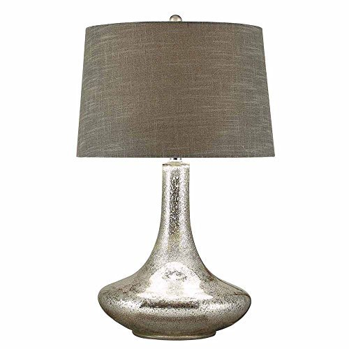 - Crestview Collection Melanie Glass and Metal Table Lamp