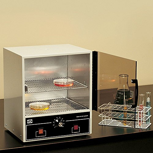 Quincy Lab 10-140 Steel/Aluminum/Acrylic Door Analog Incubator, 0.7 Cubic feet, 115V, - Oven Lab