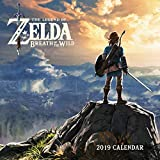 Book cover from Legend of Zelda: Breadth of the Wild 2019 Wall Calendar by Nintendo