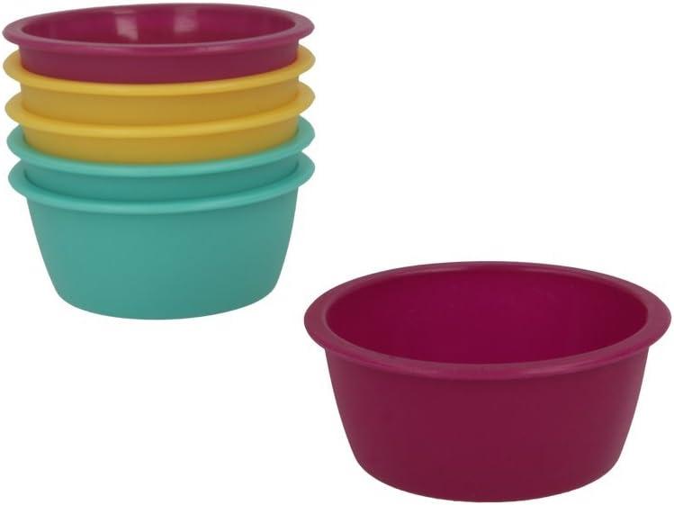 8 cm di diametro Metaltex 252394 multicolore Mini stampo per dolci in silicone