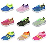CIOR Kids Slip-on Breathable Sneakers for Running