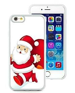 Personalized Design iPhone 6 Case,Santa Claus White iPhone 6 4.7 Inch TPU Case 22