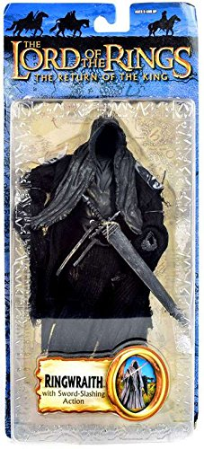 Lord of the Rings Trilogy Return of the King Action Figure Series 3 Ringwraith with SwordSlashing Action by TOYBIZ