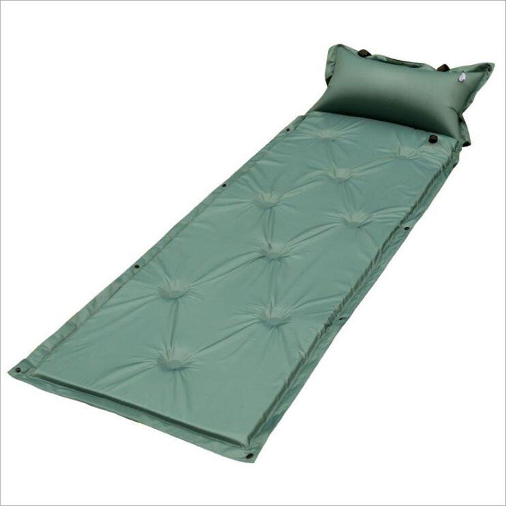Tctasche Im Freien Aufblasbares Kissen, Das Gespleißt Werden Kann und Faltbar Ist, Um Feuchtigkeit Zu Verhindern.mit Aufblasbarem Kissen, 9-Punkte-Stil, Picknick-Ausflug Camping