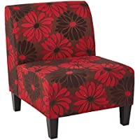 OSP Accents Magnolia Chair, Red