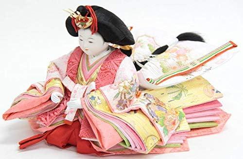 雛人形 親王収納飾り【おぼこ雛】[幅65cm]小出松寿 市川伯英頭[193to1146-a18] 雛祭り