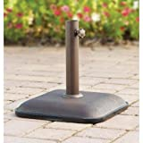 Mainstays Lawson Ridge Powder-Coated, Steel Frame Umbrella Base