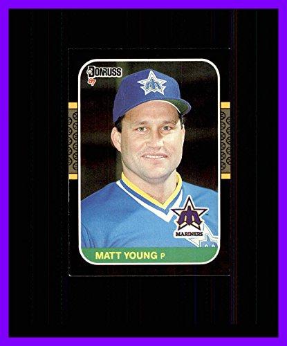 1987 Donruss #193 Matt Young SEATTLE MARINERS (193 Matt)