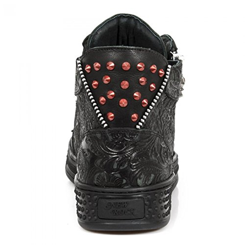 Precio increíble Venta barata Mejor venta Nuevas Botas De Rock M.ps040-c1 Zapatos Gótico Del Punk Rock Duro De Los Deportes Unisex Negro Hacer un pedido Increíble precio en línea tflIfF