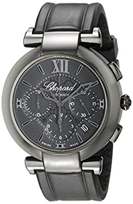 Chopard Men's 388549-3007 RBK Imperiale Analog Display Swiss Automatic Black Watch