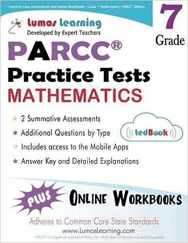 Common Core Assessments and Online Workbooks: Grade 7 Mathematics