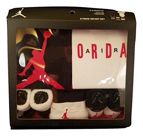 Nike Infant Boy's Air Jordan 5-Piece Set-0-6 Months