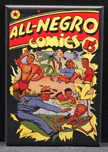 All-Negro Comics Refrigerator Magnet.