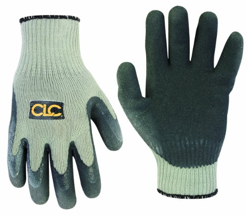 CLC Custom Leathercraft 2034XL Thermal Lined Latex Gripper Gloves, Extra (Latex Gripper Gloves)