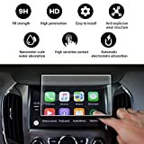 YEE PIN 2016 2017 2018 2019 Chevrolet Volt LT Premier My Link 8 Inch Display Audio Touch Screen Film, Navigation Screen Protector Glass for Anti Scratch High Clarity